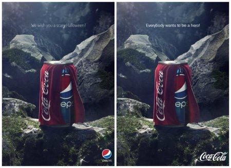 Pepsi vs Coca-Cola (Halloween 2013)