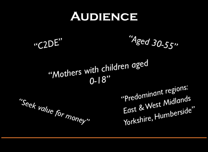 Stage 2 - Identify Target Audience
